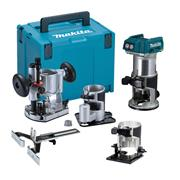 Makita DRT50ZJX3 Makita 18v Cordless Brushless Router/Trimmer - Full Kit