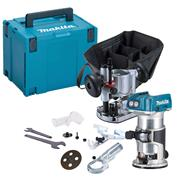 Makita DRT50KIT Makita 18v Cordless Brushless Router/Trimmer Kit