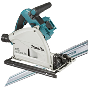 Makita DSP600ZJ-KIT1 Makita Twin 18v Li-ion Brushless Cordless Plunge Cut Saw Kit