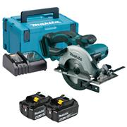 Makita DSS501RMJ Makita DSS501RMJ 18V LXT 136mm Circular Saw with 2 x 4Ah Batteries, Charger and Case