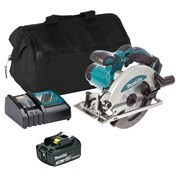 Makita DSS610ITS 18v LXT 165mm Circular Saw with 1 x 3Ah Battery, Charger and Bag