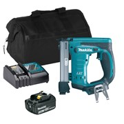 Makita DST221ITS Makita DST221ITS 18V LXT Stapler with 1 x 3Ah Battery, Charger and Bag
