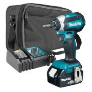 Makita DTD153KIT Makita 18v Li-ion 4.0Ah Cordless Brushless Impact Driver