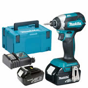 Makita DTD153RJ Makita 18v Li-ion 3.0Ah Cordless Brushless Impact Driver