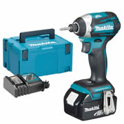 Makita DTD154RMJX Makita DTD154RMJX 18V Brushless Impact Driver with 1 x 4Ah Battery, Charger and Case