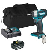 Makita DTD155ITS Makita DTD155ITS 18V LXT Brushless Impact Driver with 1 x 3Ah Battery, Charger and Bag