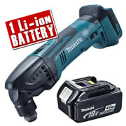 Makita DTM50Z4 Makita 18v Li-Ion Cordless Multi-Tool Body + 1 x 4.0Ah Battery