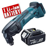 Makita DTM50Z5 Makita 18v Li-Ion Cordless Multi-Tool Body + 1 x 5.0Ah Battery