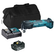 Makita DTM51ITS 18v LXT Multi-Tool with 1 x 3Ah Battery, Charger and Bag
