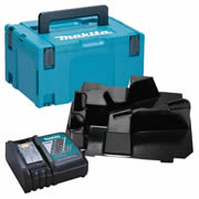 Makita DTMSC Makita Stackable Case Muilti- tool Inlay and Charger