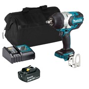 Makita DTW1002ITS Makita DTW1002ITS 18V LXT Brushless 1/2'' Impact Wrench with 1 x 3Ah Battery, Charger and Bag