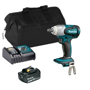 Makita DTW251ITS Makita DTW251ITS 18V LXT 1/2'' Impact Wrench with 1 x 3Ah Battery, Charger and Bag
