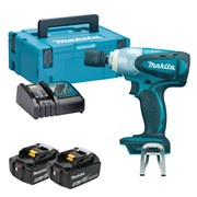 Makita DTW251RTJ Makita DTW251RTJ 18V LXT 1/2'' Impact Wrench with 2 x 5Ah Batteries, Charger and Case