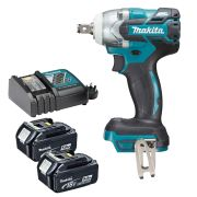 "Makita DTW285TX2 18v Li-ion 1/2"" Impact Wrench Kit"
