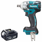 "Makita DTW285Z5 18v Li-ion 1/2"" Impact Wrench - Body + 5Ah Battery"