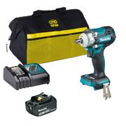 Makita DTW300ITS 18V LXT Brushless Impact Wrench with 1x 3Ah Battery, Charger & Case