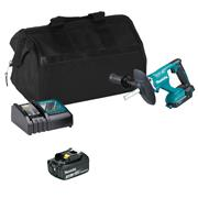 Makita DUT130ITS 18v LXT Brushless Paddle Mixer with 1 x 3Ah Battery, Charger and Bag