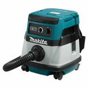 Makita DVC861LZ Makita 2 x 18v Li-ion  Corded/Cordless Dust Extractor - Body Only