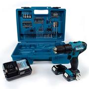Makita HP333DWAX1 12v CXT Combi Drill Kit with 2 x 2Ah Batteries, Charger and Case with Accessory Kit