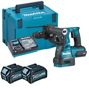 Makita HR004GD203 Makita HR004GD203 40V MAX XGT Brushless Rotary Hammer with 2x 2.5Ah Batteries, Charger & Case