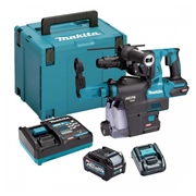 Makita HR004G Makita HR004G 40V MAX XGT Brushless Rotary Hammer With 2x 2.5AH Batteries, Charger & Case
