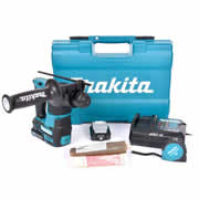 Makita HR166DSAE1 12v CXT Brushless SDS+ Drill with 2 x 2Ah Batteries, Charger and Case