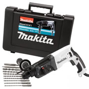 Makita HR2470WX Makita Special Edition SDS+ Hammer Drill (Chiselling action)