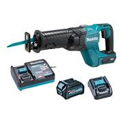 Makita JR001GD102 Makita JR001GD102 40V MAX XGT Brushless Recip Saw - Body with 1x 2.5Ah Battery, Charger & Adaptor