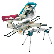 Makita LS0714WST Makita LS0714WST 190mm Slide Crosscut Mitre Saw and Stand