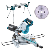 Makita LS0815FLKITWST 216mm Mitre Saw With Stand & Blade