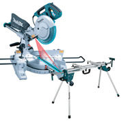 Makita LS1018LWST Makita 260mm Slide Crosscut Mitre Saw + Mitre Saw Stand