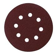 Makita P-43555 Abrasive Disc 125 Punched 80G - PK10
