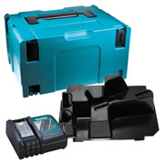 Makita SMDSSSC Makita Stackable Case, Circular Saw Inlay and Charger