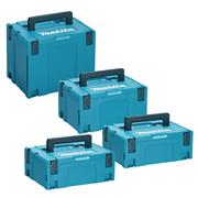 Makita STACK Makita MakPac Stackable Case 4 Piece Set