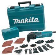 Makita TM3000CX3 Makita Multi Cutter With 42 Accessories