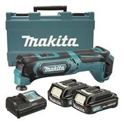 Makita TM30DWAE 10.8v CXT Multi-Tool with 2 x 2Ah Batteries, Charger and Case