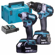 Makita TOPKIT2 Makita 18v 2 Piece Fully Brushless Kit