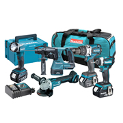 Makita TOPKIT5GJ Makita 18v 5 Piece Fully Brushless Kit