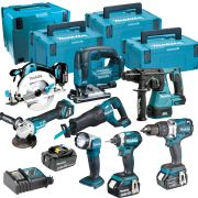 Makita TOPKIT8EJ Makita 18v 8 Piece Li-ion Fully Brushless Kit