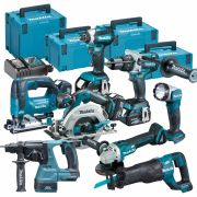 Makita TOPKIT8FJ Makita 18v 8 Piece Li-ion Fully Brushless Kit