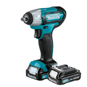 Makita TW140DWAE 12v CXT 3/8'' Impact Wrench with 2 x 2ah Batteries, Charger and Case