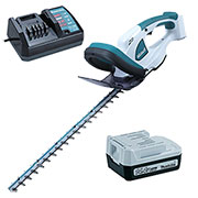 Makita UH480DW Makita 14.4v Lithium-ion Hedge Trimmer + 1 x 1.3Ah Battery and Charger