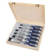 Irwin 10503733 Marples M750 6 Piece High-Impact Chisel Set in Wooden Box