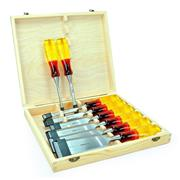 Marples M373S8KIT M373 8 Piece Splitproof Bevel Edge Chisel Set