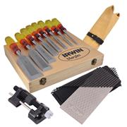 Marples M373S8PACK M373 8 Piece Splitproof Bevel Edge Chisel Set Package