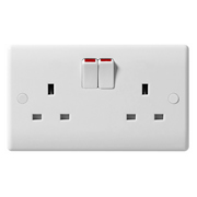 BG 822DP 2 Gang Double Pole Switched Socket
