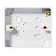 BG 891 1 Gang Square Surface Box 32mm