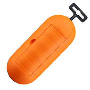 Masterplug SPTO Masterplug Outdoor Power Orange Splash Proof & One Gang Socket Cover