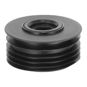 McAlpine DC2-BL McAlpine Drain Connector with 1 1/4''/1 1/2'' Ring