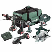 Metabo 602240599 Metabo 18v Lithium-Ion 6 Piece Kit